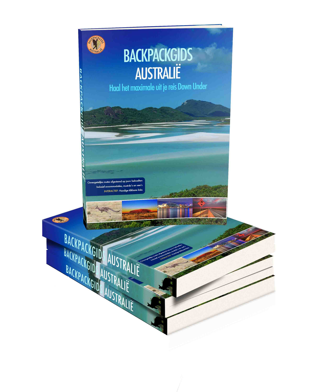 Kaft Backpackgids Australië perspectief