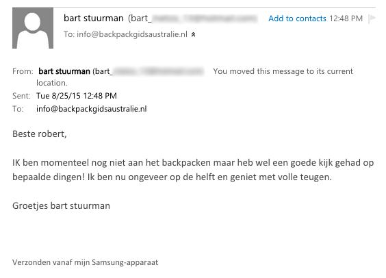 Testimonial Bart Stuurman